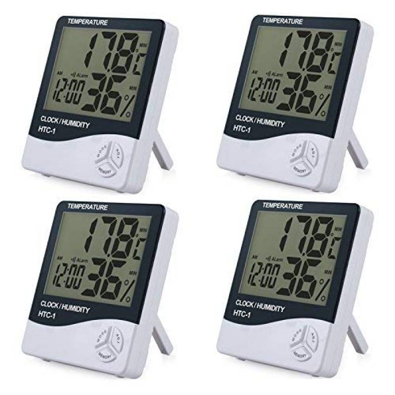 Calendrier Digital.Hygromettre Thermometre Digital Series Htc 1 Calendrier