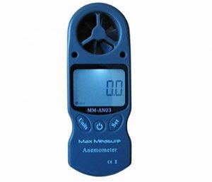 8en 1mètre Anémomètre vitesse du vent/Station Météo Baromètre Inc, température, Altitude, humidité, refroidissement Éolien, point de rosée et Indice de chaleur de la marque Max Measure image 0 produit