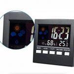 ADICOM Station Météo Thermomètre Hygromètre Réveil Horloge Écran LCD Digital de la marque ADICOM image 5 produit