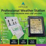 Aercus Instruments WS1093 Station météo sans fil avec écran tactile et téléchargement par Internet Guide du débutant (français non garanti) de la marque Aercus Instruments image 1 produit