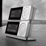 Alarm Clock Wetterstation II silver edition von Jacob Jensen de la marque Jacob Jensen image 1 produit