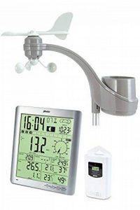 Alecto 3800Station météo avec écran large avec mesure de la température, vitesse du vent, l'humidité et la pluviosité avec mémoire Historique, argenté/blanc, 18,9x 47x 41,6cm de la marque ALECTO image 0 produit
