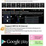 Android 6.0 Système dernière Quad Core 6.2 pouces Double 2 Din voiture Dash DVD Player Automobile stéréo Navigation Radio écran multi-tactile GPS Lecteur CD WiFi Soutien OBD2 avec caméra de recul de la marque EinCar image 3 produit