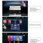 Android 6.0 Système dernière Quad Core 6.2 pouces Double 2 Din voiture Dash DVD Player Automobile stéréo Navigation Radio écran multi-tactile GPS Lecteur CD WiFi Soutien OBD2 avec caméra de recul de la marque EinCar image 2 produit