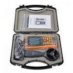 Anémomètre Numérique LCD Tester la Vitesse du Vent et la Température de l'Airavec Interface USB et Donnée pour Planche à Voile / Cerf-Volant / Vol / Surf / Pêche ( Non inclus Batteries) de la marque Amgaze image 4 produit