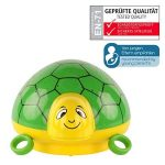 ANSMANN Projecteur de lumière à LED tortue / lampe de décoration pour chambre de bébé qui l'aide au sommeil grâce à sa musique et jeu de couleurs / Veilleuse avec capteur tactile pour une mise en marche et arrêt intuitifs de la marque Ansmann image 1 produit