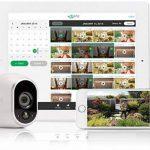 Arlo - Smart Caméra - Pack DE 1 - Kit de Surveillance 100% sans Fil, HD, Vision Nocturne, Etanche Intérieure/Extérieure, Fixations Aimantées Fournies l VMS3130-100EUS de la marque Netgear image 3 produit