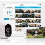 Arlo - Smart Caméra - Pack DE 3 - Kit de Surveillance 100% sans Fil, HD, Vision Nocturne, Etanches Intérieur/Extérieur, Fixations Aimantées Fournies l VMS3330-100EUS de la marque Netgear image 4 produit