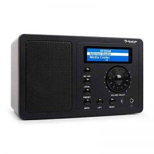 Auna IR-130 • Radio Internet • Radio WiFi • Radio Digitale • Musique sans Fil • Streaming • Plus de 8000 Stations • Affichage Heure • Réveil • Sortie Ligne • Ecran LCD • Surface Soft-Touch • Noir de la marque Auna image 0 produit