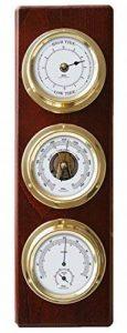 baromètre hygromètre thermomètre bois TOP 9 image 0 produit