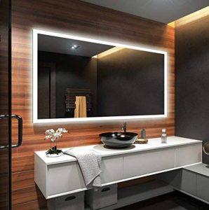 Beau Miroir Salle De Bain Lumineux LED 80x60cm de la marque FORAM image 0 produit