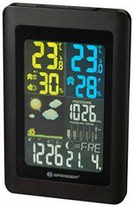 Bresser Meteo NBF Colour DCF avec capteur extérieur station météo radio Noir 18,5x 2,7x 12cm de la marque Bresser image 0 produit