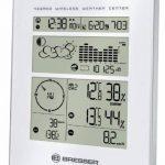 Bresser Weather Center Station météo commandée par radio, blanche/argentée de la marque Bresser image 1 produit