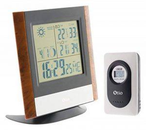 Centrale météo multifonction bois de la marque Otio image 0 produit