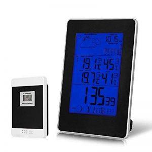 CookJoy PT0303H Horloge Scientific Détecteur de Température/humidité Intelligente Multi-Fonctionnelle de Calendrier — Noir de la marque CookJoy image 0 produit
