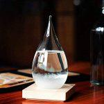 Creative élégant bureau en verre goutte Storm Crafts Météo Tempête Prévisions Bouteille Predictor Baromètre de la marque Générique image 3 produit
