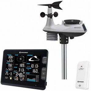 D-MAX professionnel WiFi Centre Météo 6en 1Station météo (Température, humidité, vent, pression de l'air, la pluie, rayons UV) de la marque D-max image 0 produit
