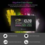 digoo dg-C3 USB Multicolore Station météo radio avecTempérature tendances humidité capteur extérieur thermomètre hygromètre hygromètre Moniteur couleur LCD écran en arrière-plan Réveil Digital Fonctio de la marque DIGOO image 3 produit