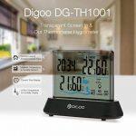 DIGOO DG-TH1001 Thermomètre / Hygromètre Intérieur / Extérieur Grand écran Transparent Capteur Sans Fil Humidité Moniteur Numérique de la marque DIGOO image 1 produit