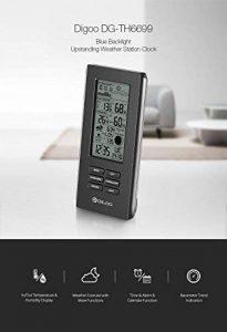 Digoo DG-TH6699 Station Météo Sans Fil Baromètre Prévisions Thermomètre USB Horloge Extérieure Capteur par scoutBAR de la marque DIGOO image 0 produit