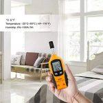 ERAY Digital Température et Humidité Mètre Thermohygromètres Thermomètre Hygromètre avec LCD Affichage de la marque ERAY image 3 produit