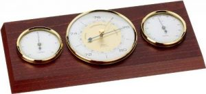 Eschenbach 53416 Indoor Weather Station Stained Wood Finish de la marque Eschenbach Optik image 0 produit