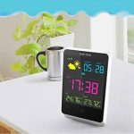 ETTgear Réveil sans fil numérique, station météo, Horloge de table Intérieur/extérieur avec température/humidité/Prévision et grand écran LCD d'éclairage nocturne de la marque eTTgear image 4 produit