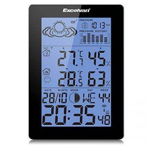 Excelvan DG0057 Station Météo avec Température / Humidité Intérieur/Extérieur de la marque Excelvan image 0 produit