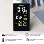 FLOUREON Station Météo Thermomètre Hygromètre sans Fils Intérieur / Extérieur Avec Ecran LCD Couleur et Sonde de la marque FLOUREON image 5 produit