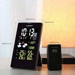 FLOUREON Station Météo Thermomètre Hygromètre sans Fils Intérieur / Extérieur Avec Ecran LCD Couleur et Sonde de la marque FLOUREON image 3 produit