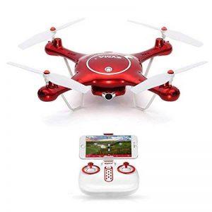 Goolsky Syma X5UW Wifi FPV RC Drone 720p HD Caméra RTF Quadcopter avec Mode sans Tête et Fonction de Réglage de Hauteur de Baromètre de la marque Goolsky image 0 produit