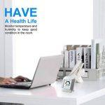 Greenbang Horloge d'humidité de la température intérieure, Portable 2,7 pouces LCD Digital Horloge d'humidité de la température Touch Control Alarm Clock pour la cuisine Salle de bains de la marque Greenbang image 5 produit