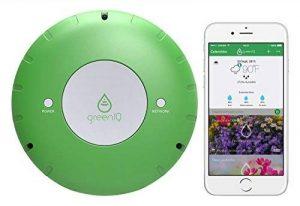 GreenIQ Programmateur pour Arrosage Automatique WIFI 6 Zones Vert 15 x 15 x 5,3 cm Console de Jardin Intelligente GreenIQ de la marque GreenIQ image 0 produit