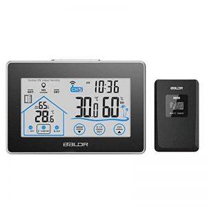GuDoQi Station Météorologique Capteur D'Humidité De Température Touche LCD Avec Capteur Sans Fil 5 Secondes Rétro-Éclairage Blanc de la marque GuDoQi image 0 produit