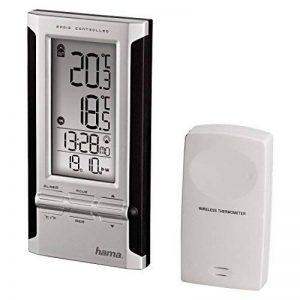 Hama EWS-180 Kit de Station météo de base + Thermomètre électronique Noir/Argenté de la marque Hama image 0 produit
