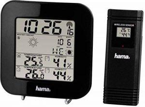 Hama EWS-200 Noir - stations météo numériques (Noir) de la marque Hama image 0 produit
