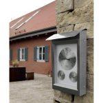 Hama Milano Station météo analogique avec thermomètre/hygromètre/baromètre en acier inoxydable de la marque Hama image 1 produit