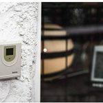 Hama Station Météo Sans Fil Ews-800 (Horloge Radio, Thermomètre, Hygromètre et Baromètre, Capteur Extérieur Inclus avec Portée de 100 M), Noire de la marque Hama image 5 produit