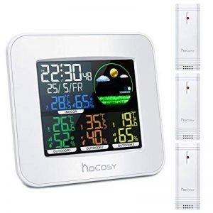 HOCOSY Station météo négative à trois canaux couleur Blanc de la marque HOCOSY image 0 produit