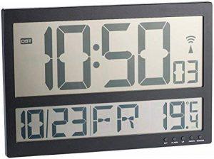 Horloge murale radio-pilotée avec thermomètre intérieur XXL de la marque Infactory image 0 produit