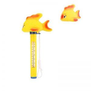Housolution Thermomètre Flottant de Piscine, Thermomètre de Piscine de STATION THERMALE, Thermomètre d'Eau de Bande Dessinée de Piscine de Bébé, Poisson Jaune de la marque Housolution image 0 produit