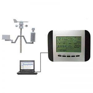HSTV Station Météo Sans Fil Multifonctionnelle Miniature Peut Se Connecter À L'ordinateur de la marque HSTV image 0 produit