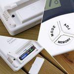 hygromètre de température, Homgrace Digital LCD Température électronique humidité Mètre testeur de station météo Intérieur Extérieur Réveil, max 50℃-69℃ de la marque Homgrace image 4 produit
