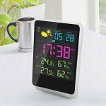 Iflying Réveil numérique sans fil avec rétroéclairage LCD Température Humidité Affichage de l'écran de la marque IFLYING image 6 produit