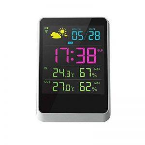 Iflying Réveil numérique sans fil avec rétroéclairage LCD Température Humidité Affichage de l'écran de la marque IFLYING image 0 produit