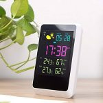 Iflying Réveil numérique sans fil avec rétroéclairage LCD Température Humidité Affichage de l'écran de la marque IFLYING image 4 produit