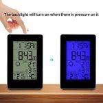 iLifeSmart Thermomètre Hygromètre Digital Intérieur/Extérieur Station Météo sans Fil Rétroéclairage Bleu LCD Grand avec Capteur Extérieur Portée de 80m pour Maison, Bureau de la marque iLifeSmart image 1 produit