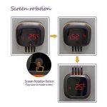Inkbird IBT-4XS Bluetooth Thermometre Cuisine Sans Fil avec Sonde,Base Magnétique, Rotation de Ecran,Thermometre Exterieur pour Four Barbecue Electrique Fumoir Viande (IBT-4XS Thermometre avec 4 Sonde) de la marque Inkbird image 2 produit