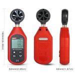 JalonC UNI-T UT363 Mini anémomètre numérique Appareil de mesure de vent de haute précision Impulseur à main Anémomètre à capteur de vitesse de vent de la marque JalonC image 2 produit