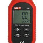 JalonC UNI-T UT363 Mini anémomètre numérique Appareil de mesure de vent de haute précision Impulseur à main Anémomètre à capteur de vitesse de vent de la marque JalonC image 4 produit